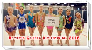 Rythmik Quebec Invitational 2016
