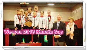 We won Kanata Cup 2016